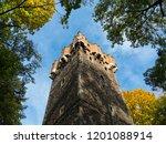 piast tower   piastowska wieza  ... | Shutterstock . vector #1201088914