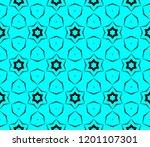 modern seamless geometric... | Shutterstock .eps vector #1201107301