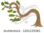 an image of a curving windy day ...   Shutterstock .eps vector #1201135381