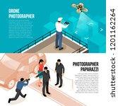 professional photographer 2... | Shutterstock .eps vector #1201162264