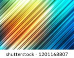 abstract yellow and blue...   Shutterstock .eps vector #1201168807