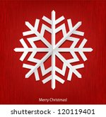 christmas background with white ... | Shutterstock .eps vector #120119401
