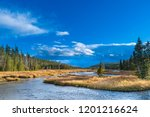 the snake river is a major... | Shutterstock . vector #1201216624