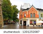 tallinn  estonia   august 30 ... | Shutterstock . vector #1201252087