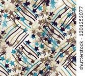 seamless pattern patchwork...   Shutterstock . vector #1201253077