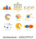 education data visualisation... | Shutterstock .eps vector #1201273717