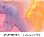 abstract watercolor background. ... | Shutterstock . vector #1201289791