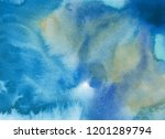abstract watercolor background. ... | Shutterstock . vector #1201289794