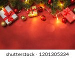 christmas and new year holidays ... | Shutterstock . vector #1201305334
