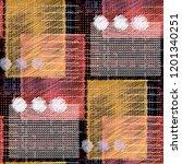 seamless pattern patchwork... | Shutterstock . vector #1201340251