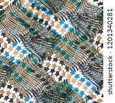 seamless pattern patchwork...   Shutterstock . vector #1201340281