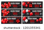 black friday sale inscription... | Shutterstock .eps vector #1201355341