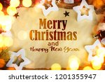 christmas and new year holidays ... | Shutterstock . vector #1201355947