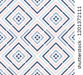 geometry zig zag vector pattern.... | Shutterstock .eps vector #1201372111