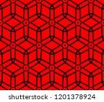 modern seamless geometric... | Shutterstock .eps vector #1201378924