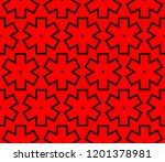 modern seamless geometric... | Shutterstock .eps vector #1201378981