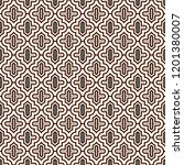oriental traditional pattern.... | Shutterstock .eps vector #1201380007