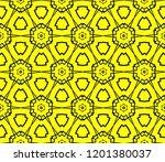 modern seamless geometric... | Shutterstock .eps vector #1201380037