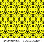 modern seamless geometric... | Shutterstock .eps vector #1201380304