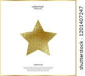 premium quality golden label...   Shutterstock .eps vector #1201407247