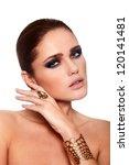 high fashion look.glamor... | Shutterstock . vector #120141481