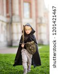 portrait of a cute little boy... | Shutterstock . vector #1201421467