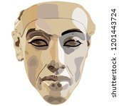 isolated vector illustration.... | Shutterstock .eps vector #1201443724