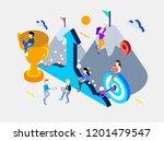 achievement graphic design   Shutterstock .eps vector #1201479547