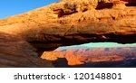 mesa arch of canyonlands... | Shutterstock . vector #120148801