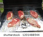 food cookout grilling   Shutterstock . vector #1201488544