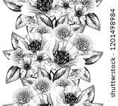 abstract elegance seamless... | Shutterstock .eps vector #1201498984