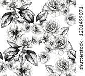 abstract elegance seamless... | Shutterstock .eps vector #1201499071