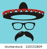 sunglasses collection   vector | Shutterstock .eps vector #120152809