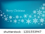 snowflakes background....   Shutterstock .eps vector #1201553947