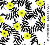 bright seamless pattern with... | Shutterstock .eps vector #1201557274