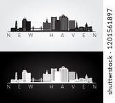 New Haven  Usa Skyline And...
