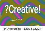 fluid shapes. liquid neon... | Shutterstock .eps vector #1201562224