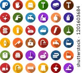 color back flat icon set   baby ... | Shutterstock .eps vector #1201603684