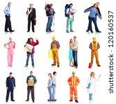group of workers people set.... | Shutterstock . vector #120160537