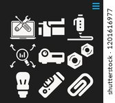 vector icons such as multimedia ...   Shutterstock .eps vector #1201616977