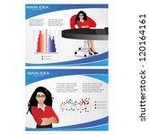 template for advertising... | Shutterstock .eps vector #120164161
