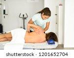 professional female... | Shutterstock . vector #1201652704