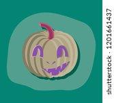 paper sticker on stylish...   Shutterstock .eps vector #1201661437