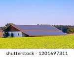 green energy with solar... | Shutterstock . vector #1201697311