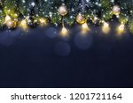 christmas and new year holidays ... | Shutterstock . vector #1201721164