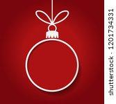 christmas concept christmas... | Shutterstock .eps vector #1201734331