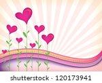 abstract illustration of sunset ... | Shutterstock . vector #120173941