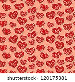 valentine seamless wallpaper... | Shutterstock .eps vector #120175381