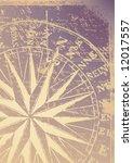 old compass vector | Shutterstock .eps vector #12017557