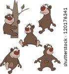 bears. cartoon | Shutterstock .eps vector #120176341
